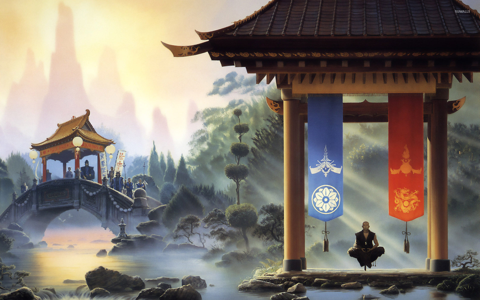 Meditation wallpaper fantasy wallpapers 33099 meditation wallpaper voltagebd Images