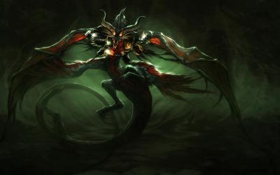 Monster dragon wallpaper