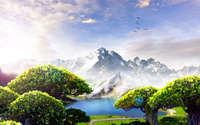 Mountains [3] wallpaper 1920x1200 jpg