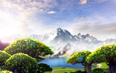 Mountains [3] wallpaper