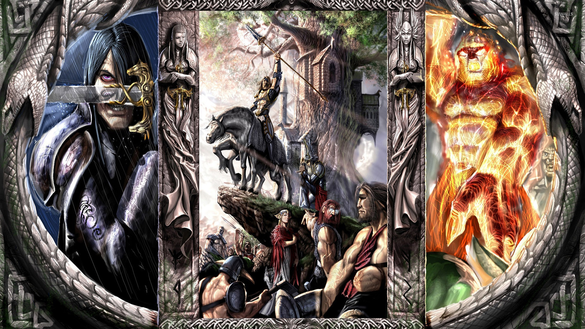 Mythical Creatures 2 Wallpaper