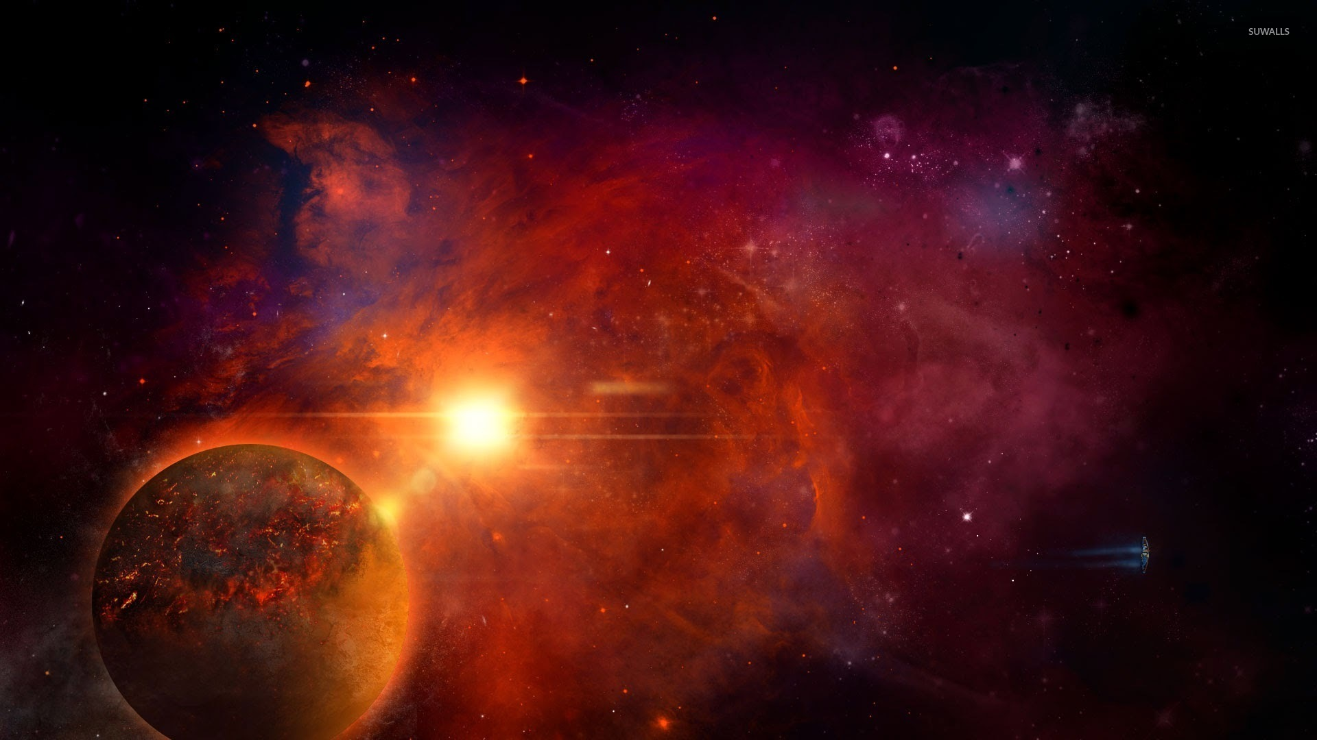 orange nebula wallpapers - photo #11