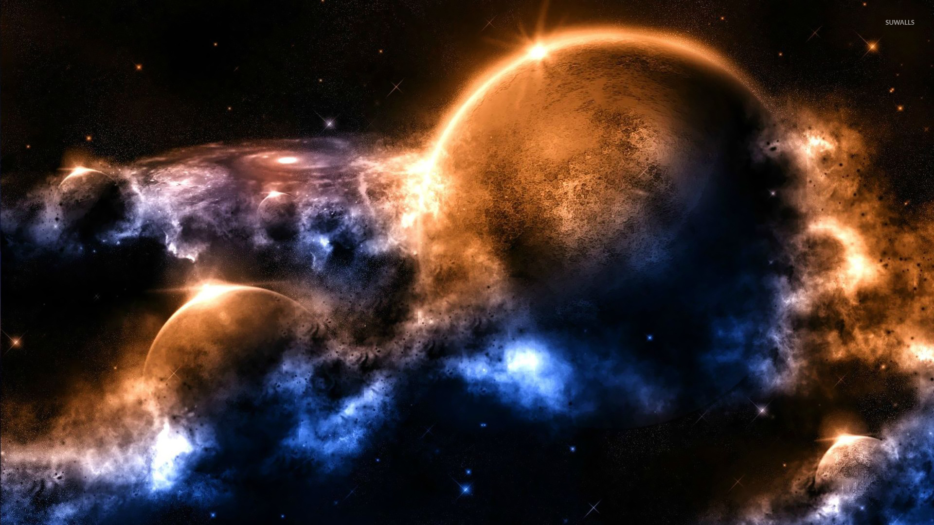 outer space wallpaper fantasy wallpapers 15043