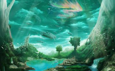 Paradise wallpaper