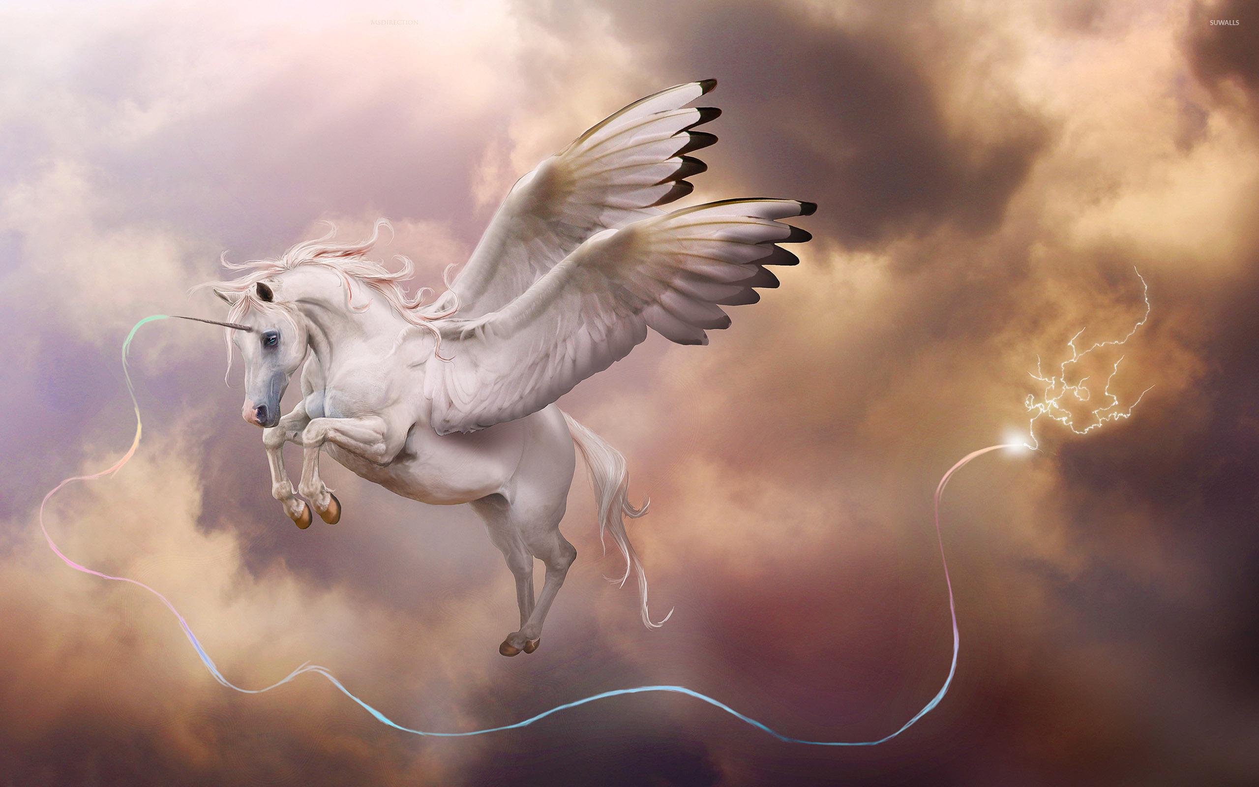 Pegasus unicorn wallpaper - Fantasy wallpapers - #38388