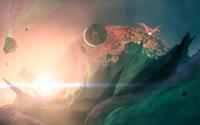 Planet explosion wallpaper 1920x1200 jpg
