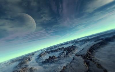 Planet surface [2] wallpaper