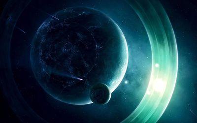Planet under attack wallpaper
