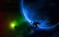 Planets and asteroids [3] wallpaper 1920x1200 jpg