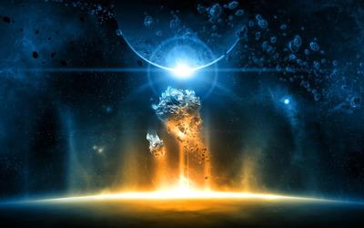 Planets & Asteroids wallpaper