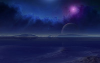 Planets in the sky wallpaper 1920x1200 jpg