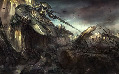Post-apocalyptic scenery [2] wallpaper