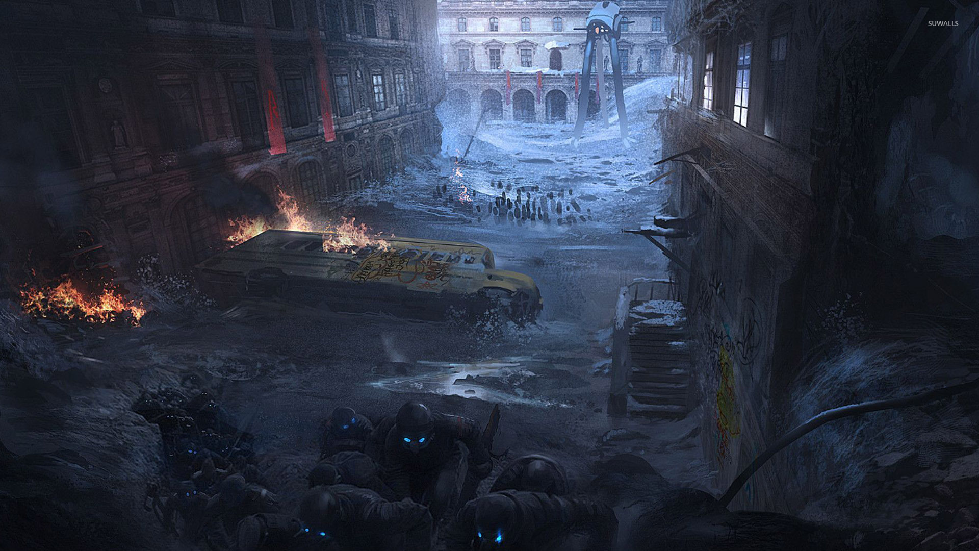 Post Apocalyptic Scenery Wallpaper Fantasy Wallpapers 27374