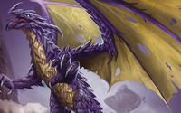 Purple dragon wallpaper 1920x1080 jpg