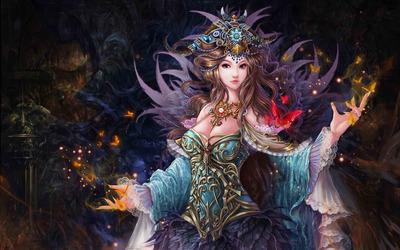 Queen fairy wallpaper
