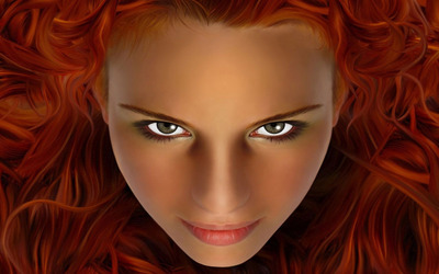 Redhead [2] wallpaper