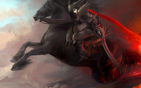 Riding warrior wallpaper 1920x1200 jpg