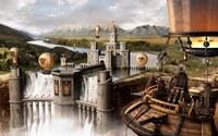 River castle wallpaper 1920x1200 jpg
