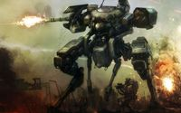 Robot in war wallpaper 1920x1200 jpg