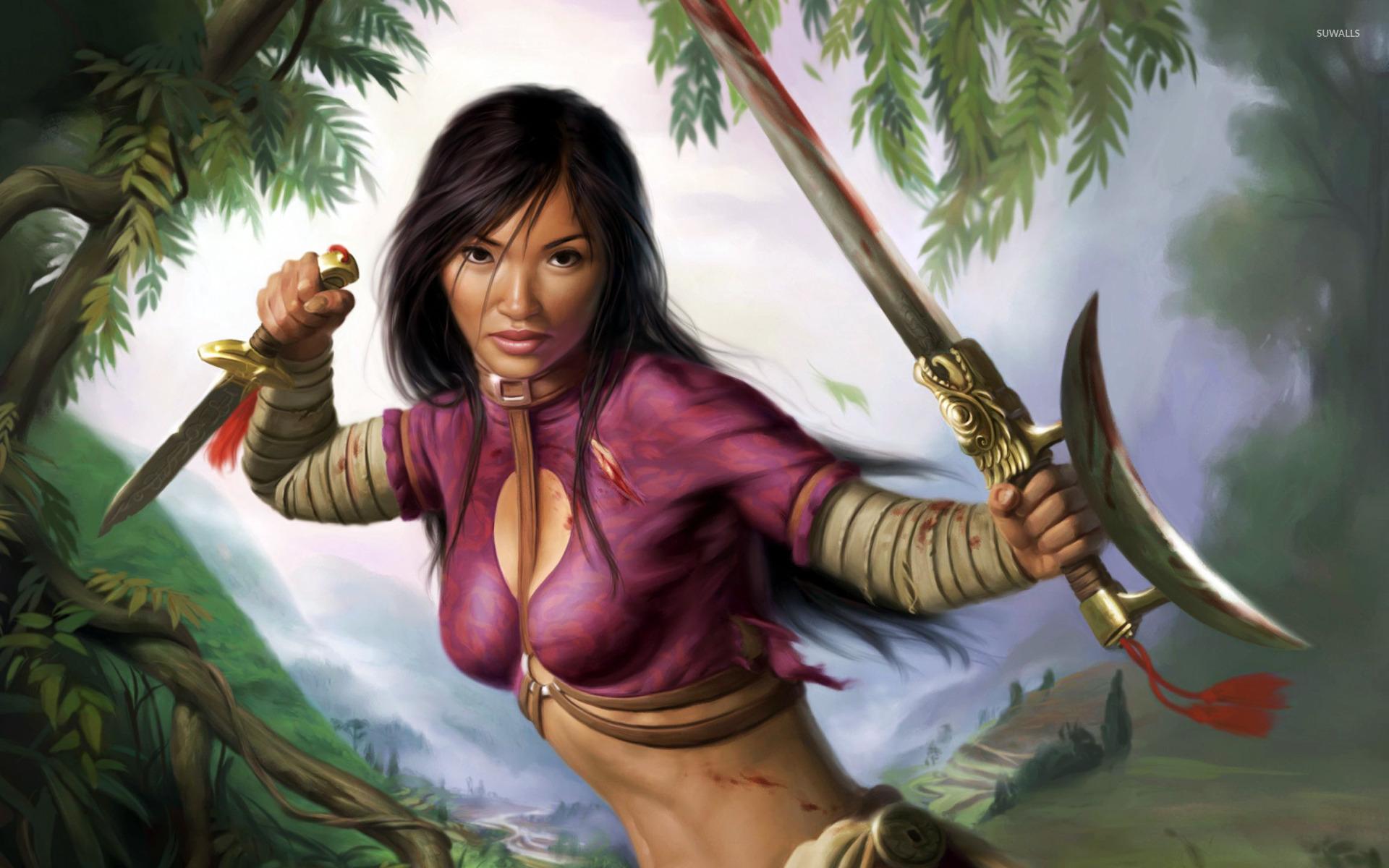 Fantasy - Samurai Wallpaper | Sekina-Tekina Potentials | Pinterest ...