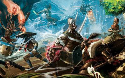 Samurai war Wallpaper