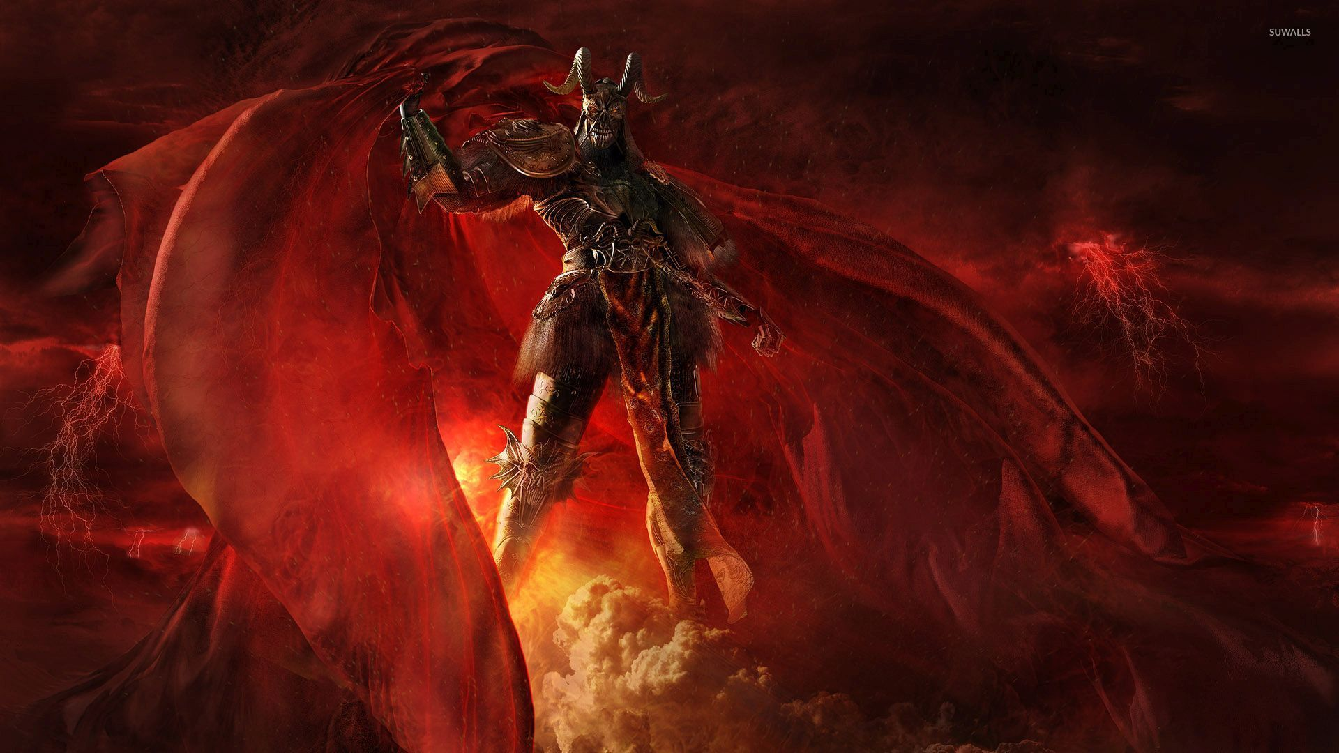 Scary Demon In Hell Wallpaper Fantasy Wallpapers 54038