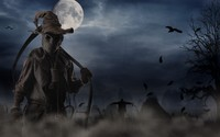 Scary scarecrow wallpaper 2560x1600 jpg
