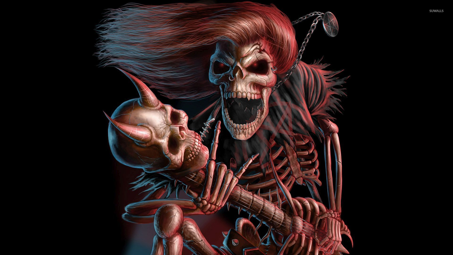 Scary Skeleton Pictures
