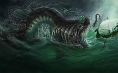 Sea Monster [2] wallpaper