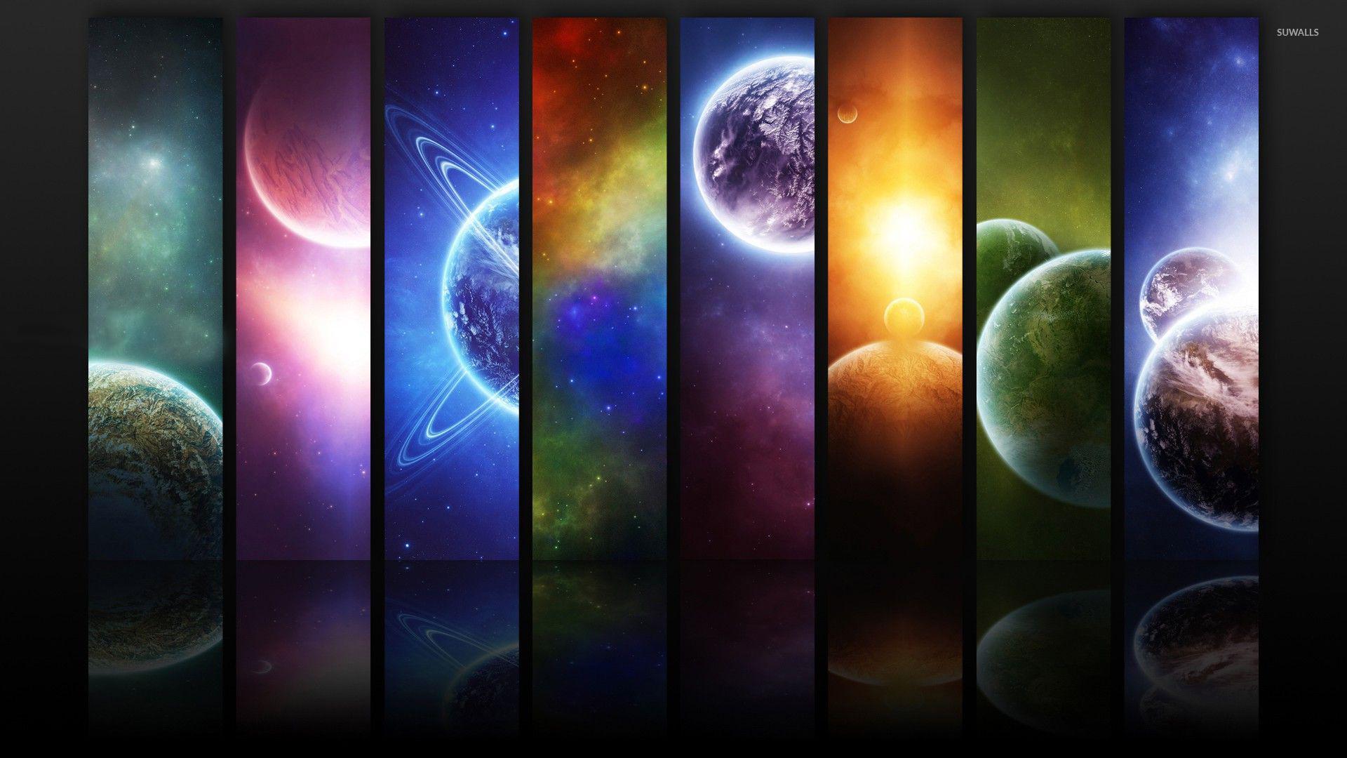 Small portions from the universe wallpaper fantasy for Universe wallpaper for walls
