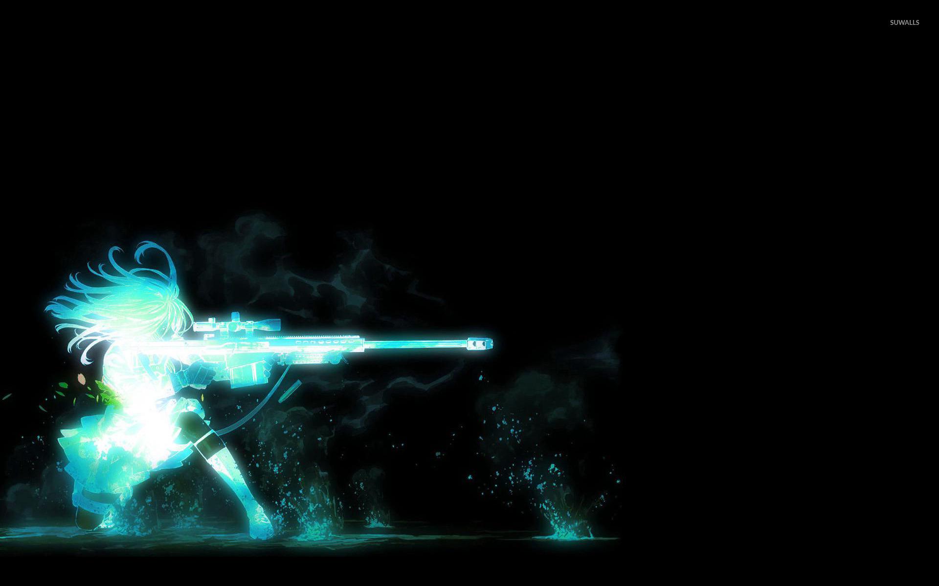 Sniper Girl wallpaper - Fantasy