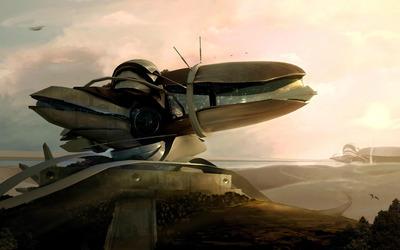Spaceship [3] wallpaper