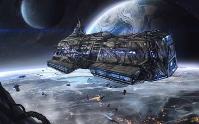 Spaceship [6] wallpaper
