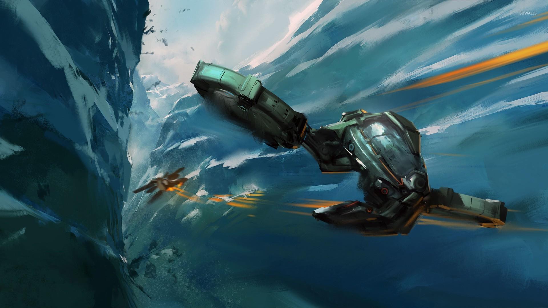 [Flashback] On Stranger Tides [Hawkman] Spaceship-battle-25248-1920x1080