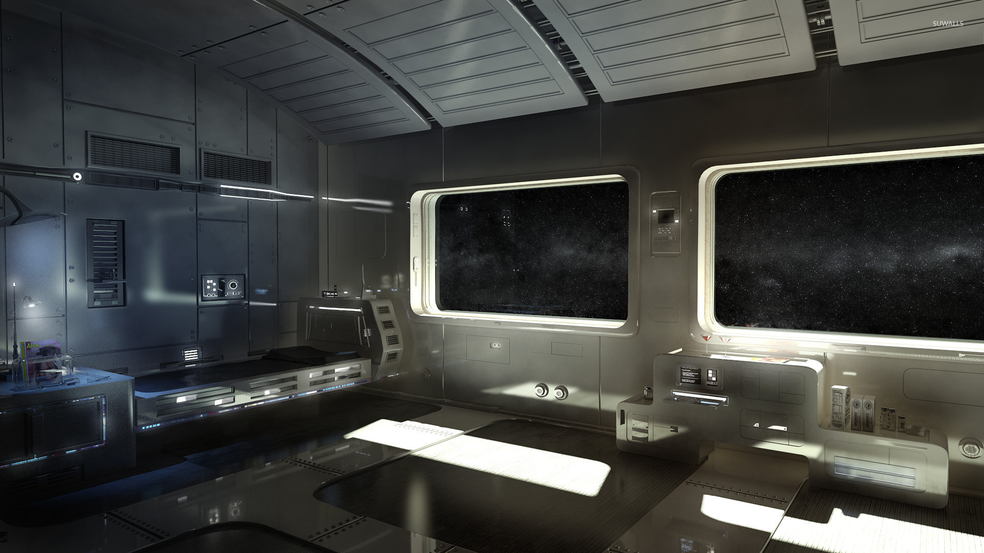 Spaceship interior wallpaper - Fantasy wallpapers - #29480