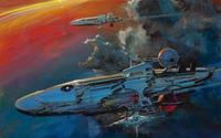 Spaceships [3] wallpaper 1920x1200 jpg