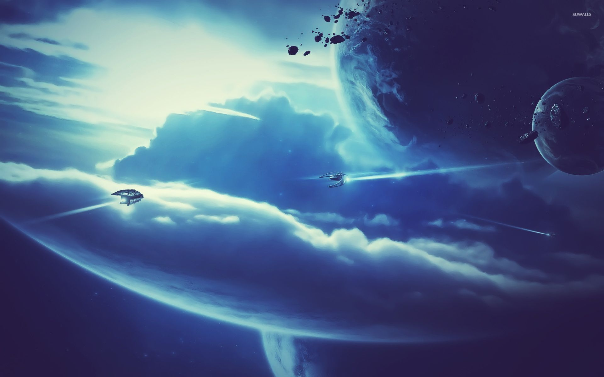 spaceships wallpaper fantasy wallpapers 32838