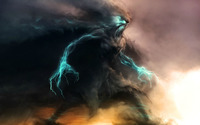Storm monster wallpaper 1920x1200 jpg