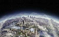Surreal London wallpaper 1920x1200 jpg