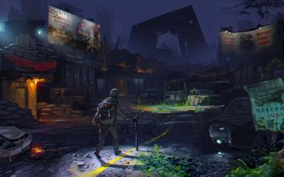 Surviving the apocalypse wallpaper