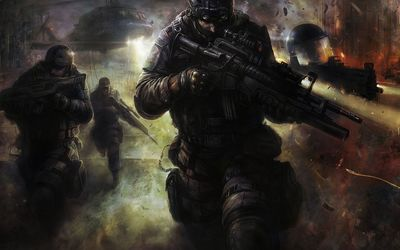 SWAT team wallpaper