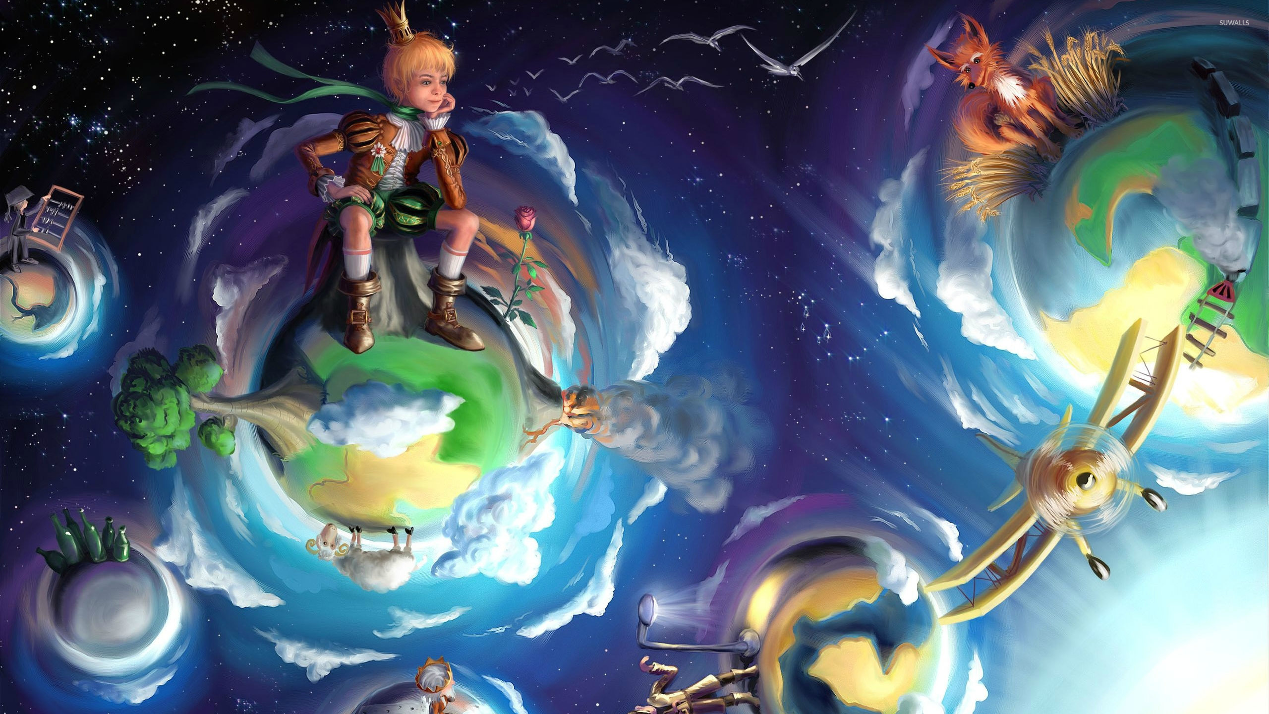 The Little Prince Wallpaper Fantasy Wallpapers 34527