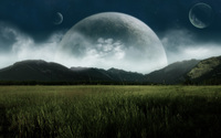 Three moons wallpaper 1920x1200 jpg