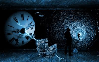 Time traveller wallpaper