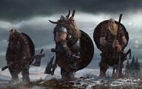 Vikings ready for battle wallpaper 1920x1200 jpg