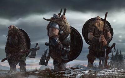 Vikings ready for battle wallpaper