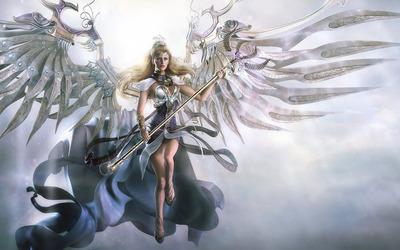 Warrior angel [2] wallpaper