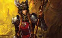 Warrior girl [5] wallpaper 1920x1200 jpg