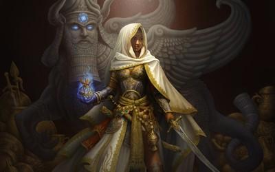 Warrior queen wallpaper
