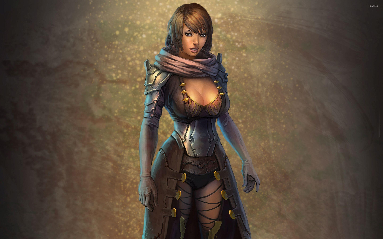 warrior woman [2] wallpaper - fantasy wallpapers - #32991